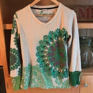 Desigual long sleeved sweater top